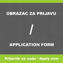 Obrazac za prijavu / Application Form